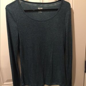 Ribbed long sleeve Mossimo Co top